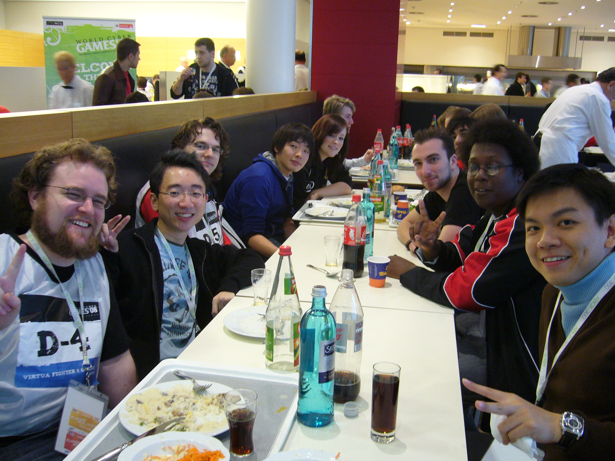 VF5 Lunch at player's lounge
